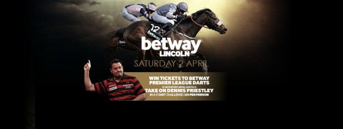 J6536-B DON Betway Lincoln with Dennis Priestley FB Event