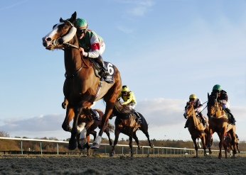 Hollie Doyle winning on Tigerfish at Lingfield Park on 24th February 2017