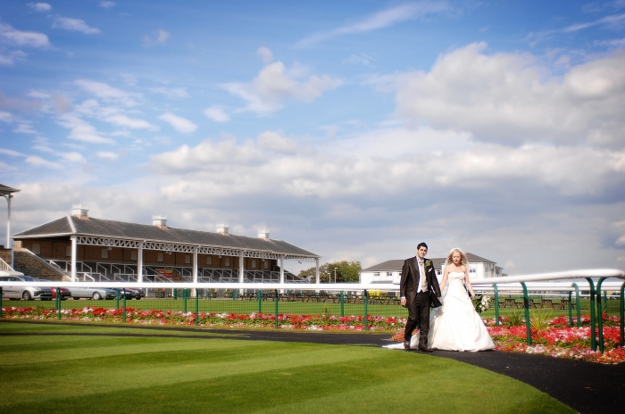Parade ring wedding